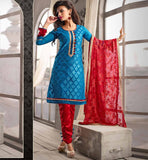 TRENDY ETHNIC STYLE DESIGNER LADIES CHURIDAR SALWAR KAMEEZ DUPATTA PARTY WEARS.  BUY ONLINE FROM OUR EVERSTYLISH INDIAN TRADITIONAL CASUAL PUNJABI SUIT COLLECTION