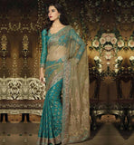 EXQUISITE DESIGNER PARTY WEAR SAREE