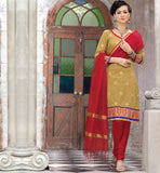 PRETTY PURE CHANDERI SALWAR SUIT VDSIL9023