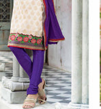 COOL PURE CHANDERI SALWAR SUIT VDSIL9025
