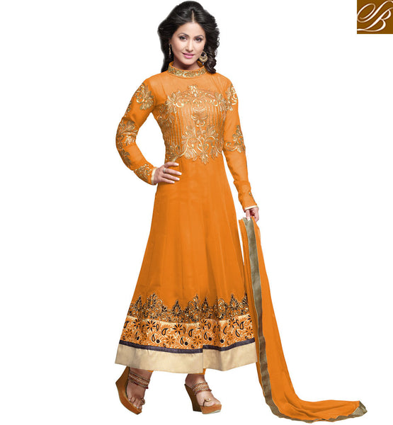 TELEVISION CELEBRITY HINA KHAN NEW ANARKALI COLLECTION WITH PRICE