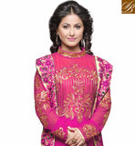 DARK PINK SALWAR WITH EMBROIDERY WORK