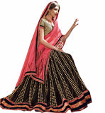 FROM THE HOUSE  OF STYLISH BAZAAR ILLUMINATED DESIGNER BLACK LEHENEGA CHOLI DESIGN RTARIJ9051