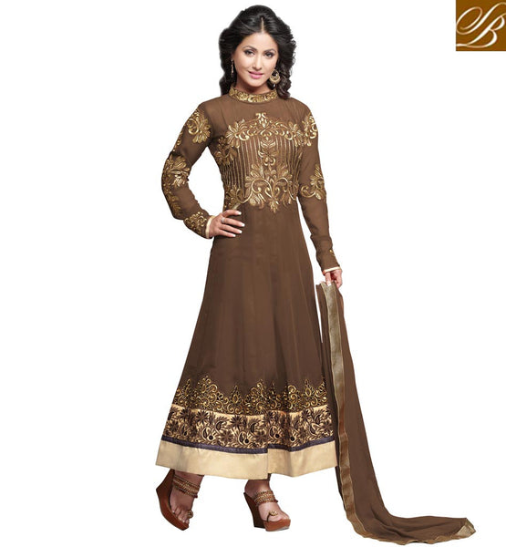 HINA KHAN LATEST DRESSES AT REASONABLE PRICE FROM STYLISH BAZAAR