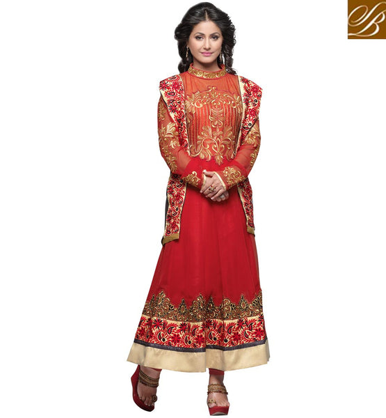 AKSHARA DESIGNER ANARKALI SUIT FOR PARTY WEAR AT REASONABLE PRICE