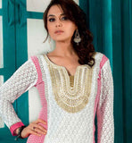 PREITY ZINTA OFF WHITE DRESS RTTUV9204