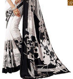 A STYLISH BAZAAR PRESENTATION LOVELY PRINTED SAREE BLOUSE DESIGN RTDVM9307