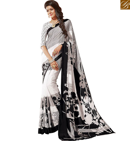 BROUGHT TO YOU BY STYLISH BAZAAR LOVELY PRINTED SAREE BLOUSE DESIGN RTDVM9307