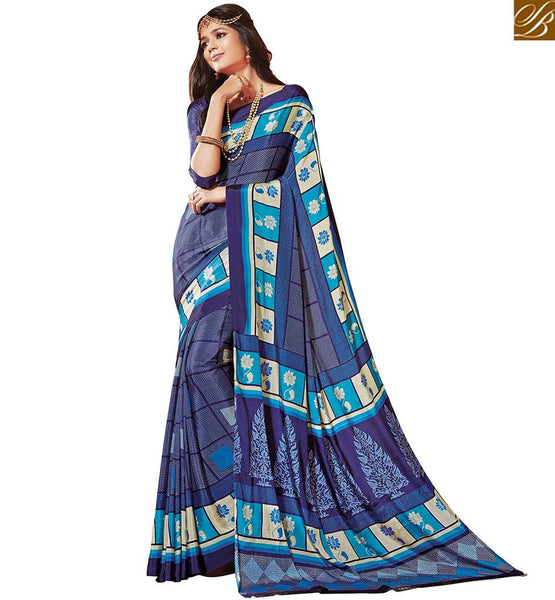 BROUGHT TO YOU BY STYLISH BAZAAR FABULOUS CREPE SILK SAREE DESIGNS RTDVM9315