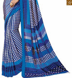 A STYLISH BAZAAR PRESENTATION MARVELOUS DESIGNER PRINTED SARI BLOUSE RTDVM9316