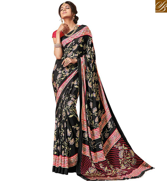 STYLISH BAZAAR INTRODUCES EXCELLENT DESIGNER PRINT SARI RTDVM9319
