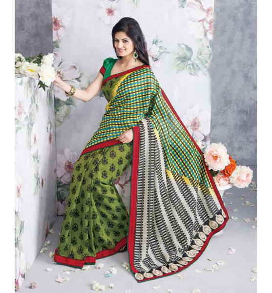 PRETTY PRINTED ART-SILK SAREE RTVT9335 - StylishBazaar - Online Saree Shopping, online shopping for sarees, lehenga saree buy online, buy silk sarees online, Saree Online Shopping, buy online sarees, Surat Sarees