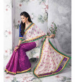 NICE-LOOKING PRINTED ART-SILK SAREE RTVT9337 - StylishBazaar - buy sarees online UK, buy sarees UK, buy sarees USA, Shop for Indian Sarees