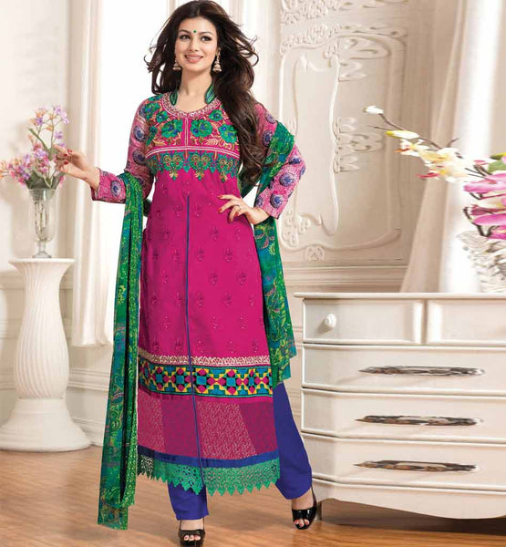 BOLLYWOOD CELEBRITY INSPIRED CLOTHING AYESHA TAKIA SALWAR KAMEEZ