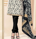 Kameez with black churidar for women