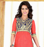 SHOP ONLINE STRAIGHT PARTY WEAR SALWAR KAMEEZ DRESS AT BEST RATES