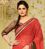 STYLISH BAZAAR ZARINE KHAN SAREE ONLINE SHOPPING INDIA AT LOW PRICE