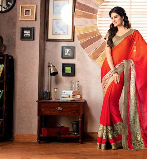 PINK & ORANGE ALIA BHATT'S MOVIE 2STATES INSPIRED SAREE COLLECTION