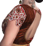 ready to wear saree blouses online shopping india