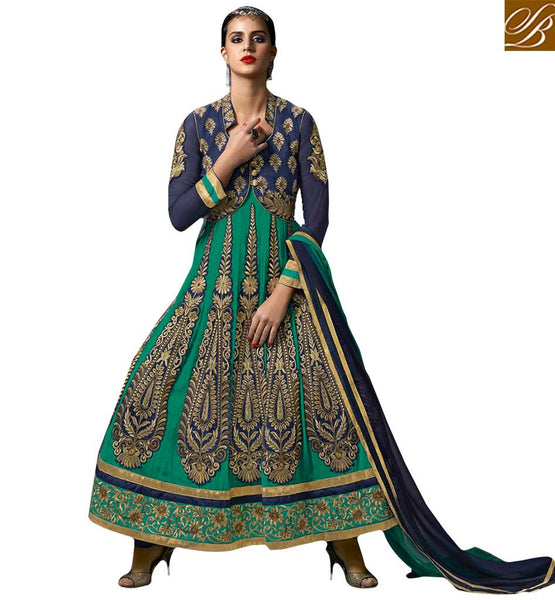 STYLISH BAZAAR ATTRACTIVE KOTI STYLE DESIGNER SUIT FOR WOMAN BLFS1177