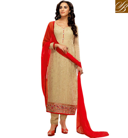STYLISH BAZAAR BUY MUSTARD COLOUR STRAIGHT CUT CHURIDAR SALWAR SUIT FROM STYLISH BAZAAR BLFS14