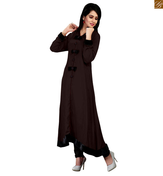 LATEST DESIGNER COTTON LONG KURTI CFAK104BR