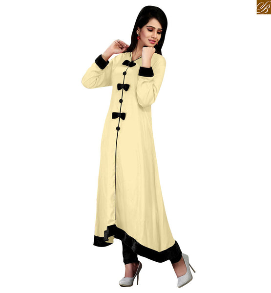 EVER STYLISH DESIGNER COTTON LONG KURTI CFAK104CR