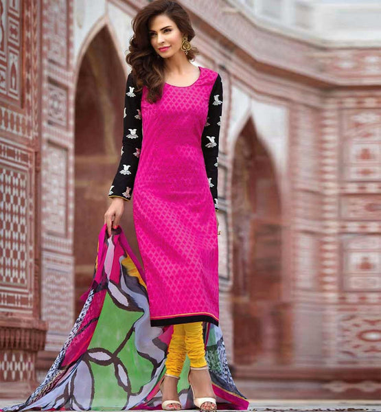 COTTON SALWAR SUIT WITH DUPATTA FLBH9027
