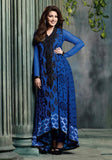 Sonali Bendre Blue anarkali Dress