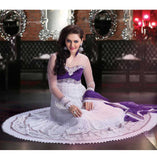 heavy embroidered anarkali dresses uk