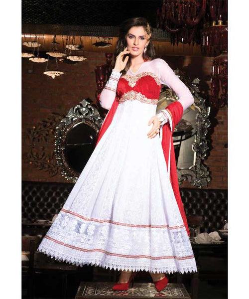 Party Wear Salwar Kameez with stonework