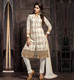 STYLISH INDIAN SALWAR SUITS DESIGNS FOR WOMEN STYLISH NECK LINE AND COLLAR PATTERN PURE COTTON KAMEEZ