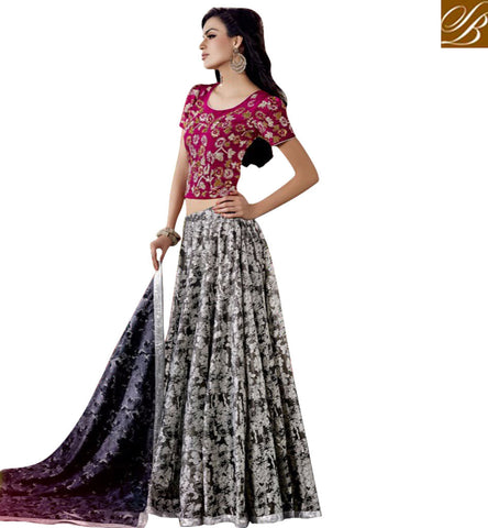 STYLISH BAZAAR LATEST CHANIYA CHOLI FOR INDIAN WOMEN STYLISH BAZAAR SILK LEHENGA CHOLI DESIGN ONLINE COLLECTION 2017 JNFR1008