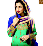 FROM THE HOUSE  OF STYLISH BAZAAR ATTRACTIVE KOTI STYLE SALWAAR KAMEEZ FOR PARTIES RMKP003