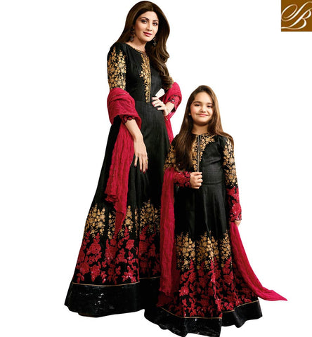SHOP SHILPA SHETTY DESIGNER COORDINATING MOTHER DAUGHTER DRESSES ONLINE