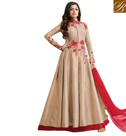 STYLISH BAZAAR JHALAK DIKHHLA JAA HOST DRASHTI DHAMI IN INTOXICATING DESIGNER LEHENGA KAMEEZ SALWAAR SUIT FOR PARTIES  LTNT1005