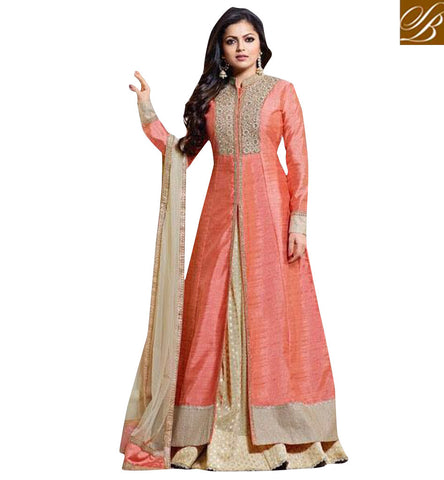 STYLISH BAZAAR PARDES MEIN HAI MERA DIL FAME DRASHTI DHAMI WEDDING ANARKALI DRESS SUIT LATEST BOLLYWOOD DRESS LTNT1009