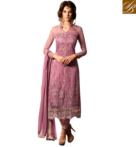 STYLISH BAZAAR CHOOSE FROM 2 TONES IN LATEST ONLINE WOMEN SALWAR KAMEEZES FOR SPECIAL OCASSIONS MHN34003A