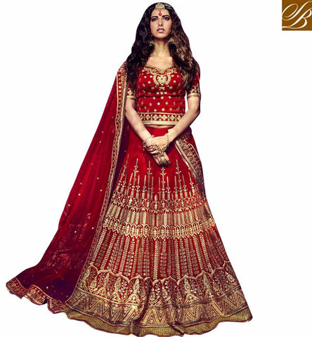 STYLISH BAZAAR IDEAL GHAGRA CHOLI DESIGNS BRIDAL COLLECTION STYLISH BAZAAR WEDDING LEHENGA CHOLI FOR GIRLS WITH PRICE NKBRC10013