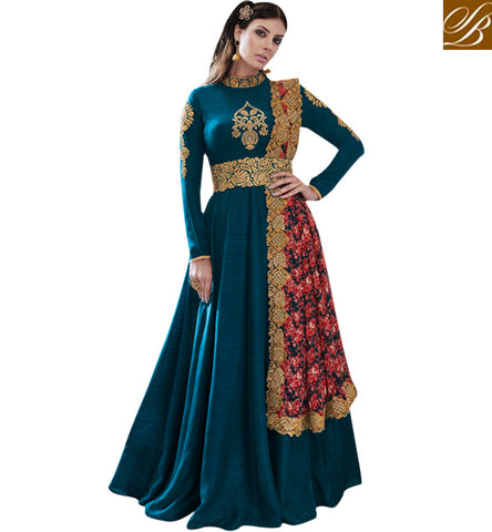 STYLISH BAZAAR Buy Green designer nakashi wedding gown latest design for women online NKECH3052