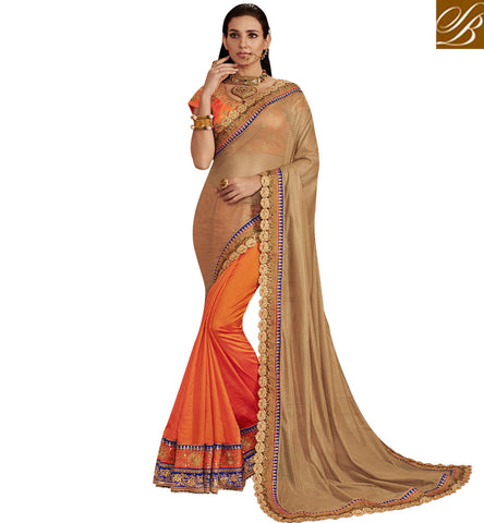 STYLISH BAZAAR RAVISHING SAREES ONLINE DESIGNER SARIS ONLINE SHOPPING WITH PRICE HALF SILK SAREE ONLINE COLLECTION NKEMB4060