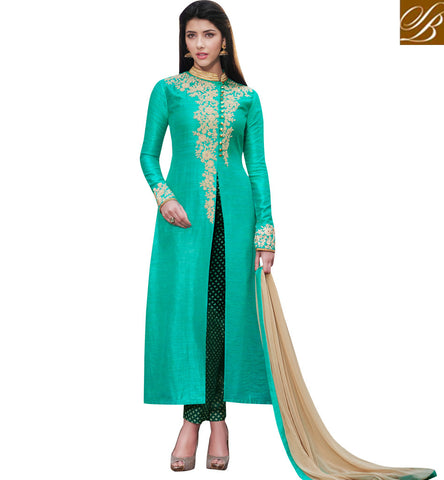 STYLISH BAZAAR 2 color alternative slit cut women eid fashion Pakistani collection NKENG1027A and NKENG1076B