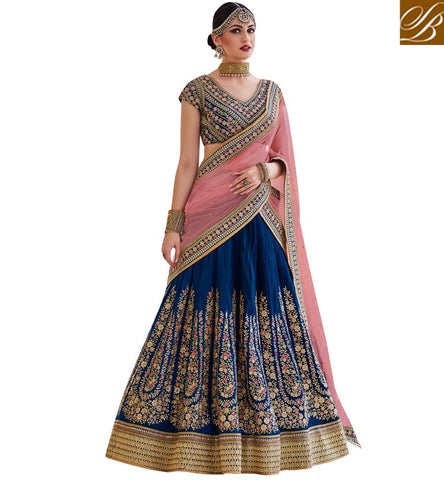 STYLISH BAZAAR BUY LEHENGA CHOLI ONLINE FROM STYLISH BAZAAR DESIGNER ELEGANCE WITH ZOYA NAKASHI COTURE DRESS   NKENH5083