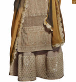 FROM STYLISH BAZAAR TRADITIONAL PARTY WEAR DESIGNER SALWAAR KAMEEZ NKFG11009