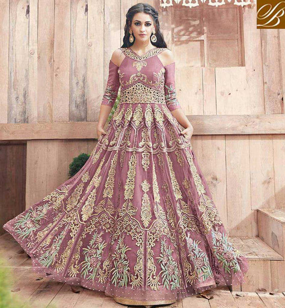 Shop latest Zoya indowestern floor length engaged Ramadan anarkali gown PFENG21002