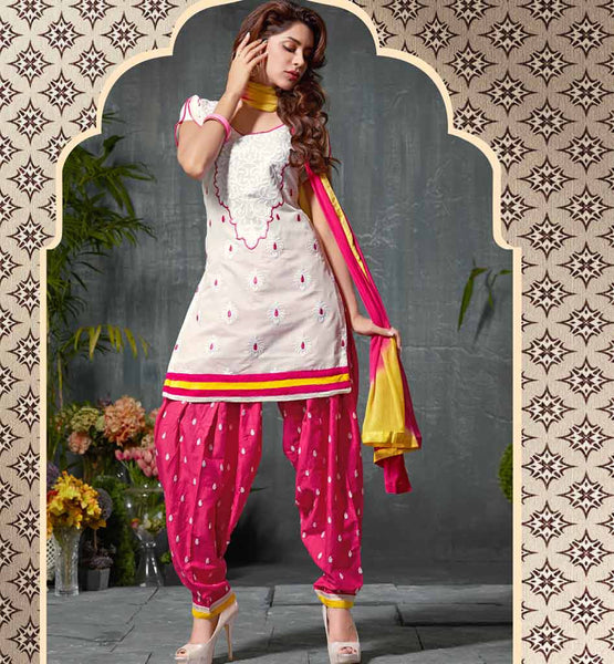 DESI TADKA PATIALA DRESS VDPUN1001
