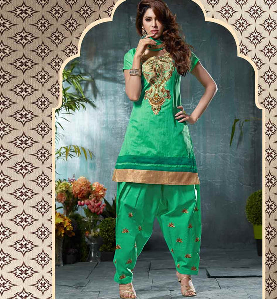 DESI TADKA PATIALA DRESS VDPUN1013