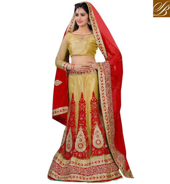 HEAVY BORDER DUPATTA TRADITIONAL INDIAN LENGHA CHOLI BUY ONLINE EASILY