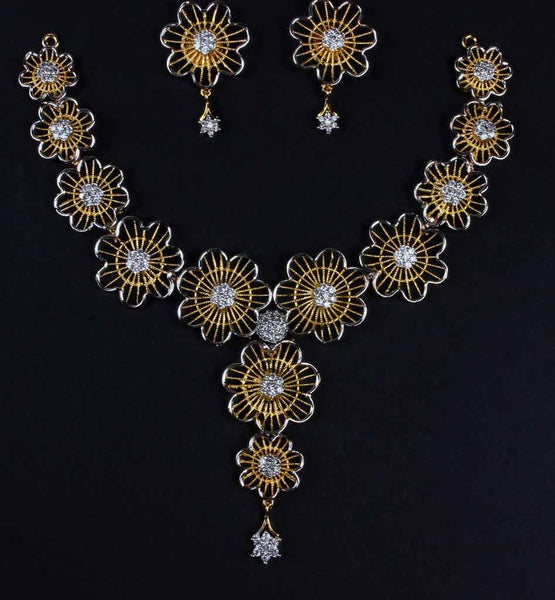 DESIGNER NECKLACE WITH EARRINGS - SBJW2002