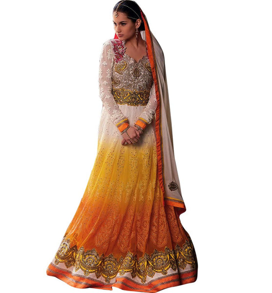 images of heavy anarkali dresses